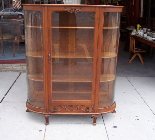 Antique Curved Glass Curio Cabinet Value by Antique Curved Glass Curio  Cabinet Value - Antique Curved - Antique Curio Cabinet Curved Glass Antique Furniture